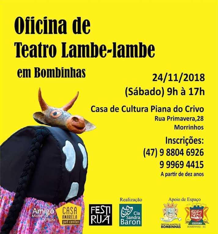 BOMBINHAS – Oficina de Teatro Lambe-Lambe