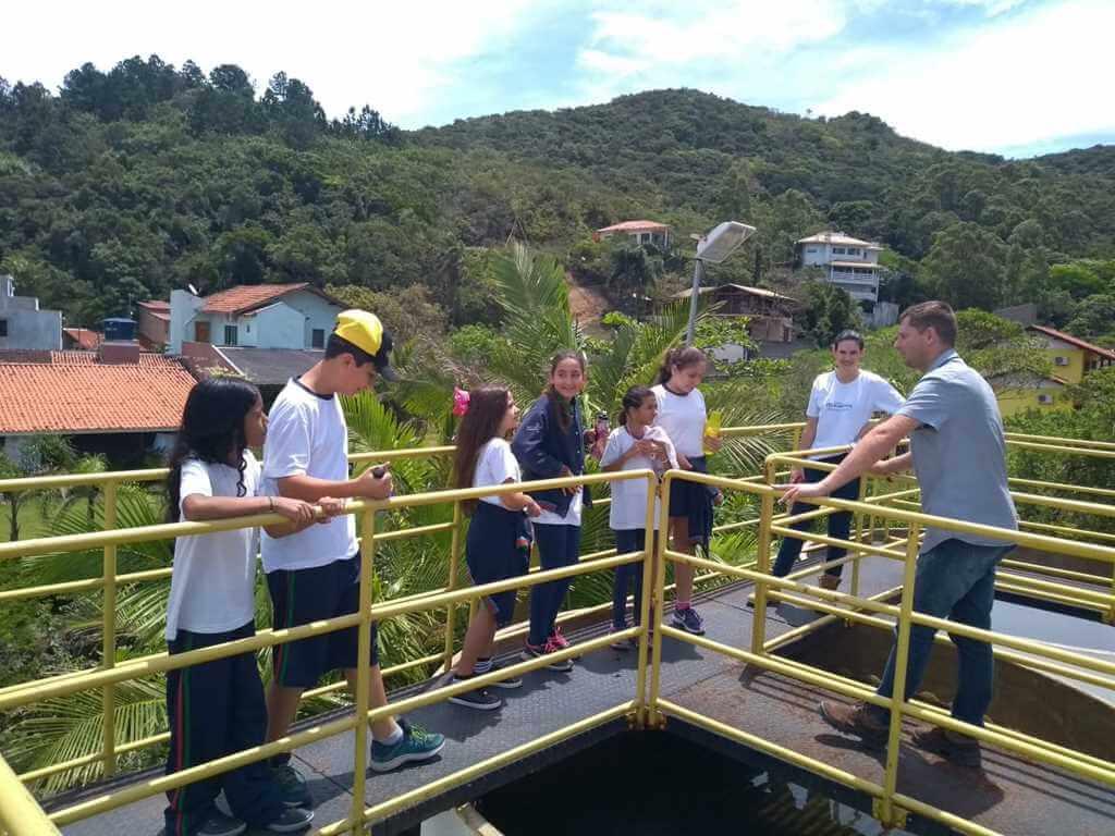 BOMBINHAS - Projeto EMAS encerra o ano com visita técnica na ETA Zimbros
