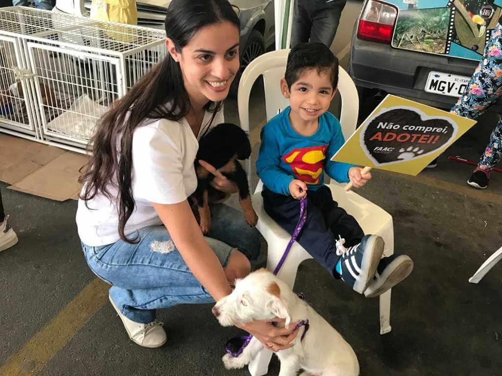 FAACI vai realizar feira mensal de adoção de animais