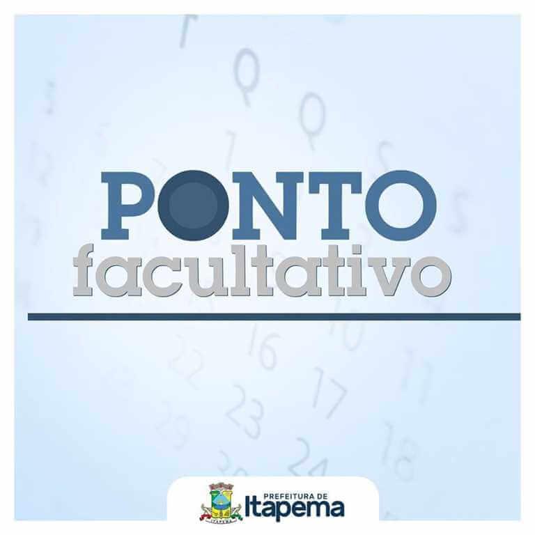 Prefeitura de Itapema terá ponto facultativo na próxima sexta-feira (16/11)