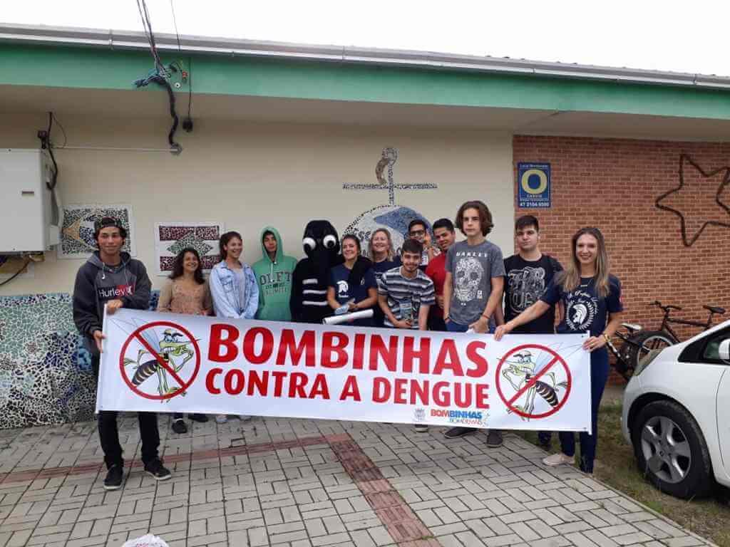 BOMBINHAS - Bombinhas contra o Aedes Aegypti