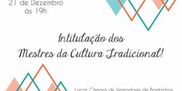 BOMBINHAS - FMC reconhece Mestres dos Saberes e Fazeres da Cultura Bombinense - Foto: Tábata Torres