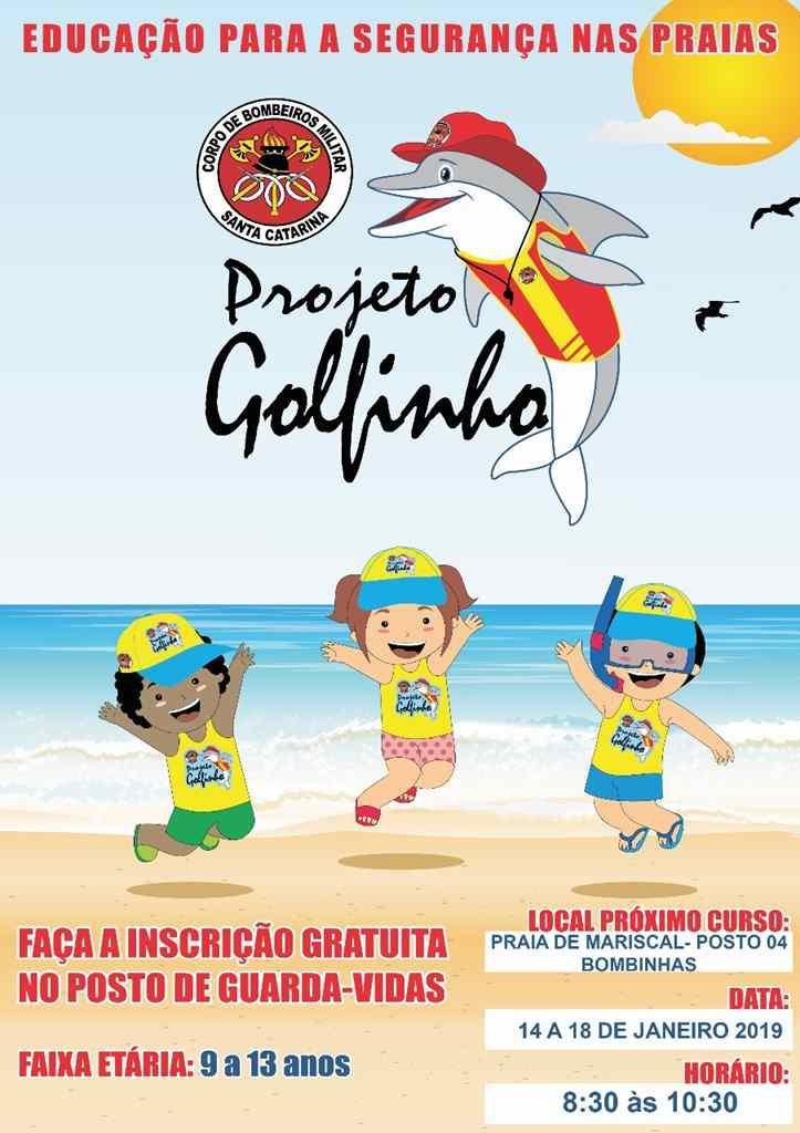BOMBINHAS – Projeto Golfinho oferece noções de segurança às crianças