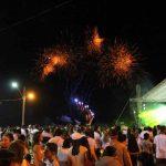 PORTO BELO - Porto Belo recebe 2019 com milhares de pessoas na Praia do Baixio