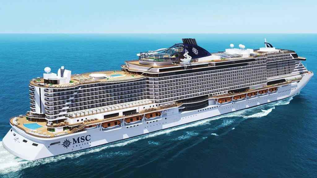 Porto Belo receberá MSC Seaview Navio é o maior a navegar pelo Brasil