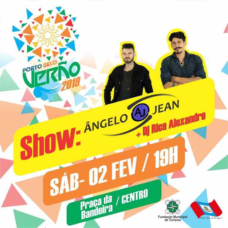 PORTO BELO – Porto Belo terá show gratuito neste sábado