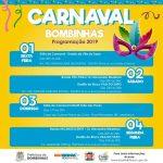 BOMBINHAS - Baile de Carnaval Infantil 2019