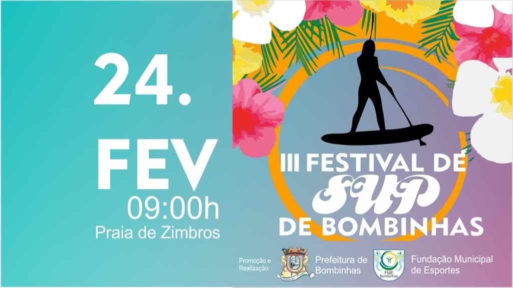 BOMBINHAS - Festival de Stand Up na Praia de Zimbros