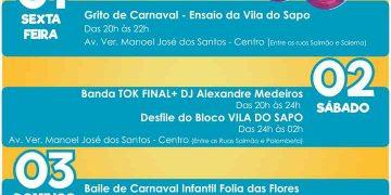 BOMBINHAS - Música e Desfile de Bloco animam Carnaval de Bombinhas