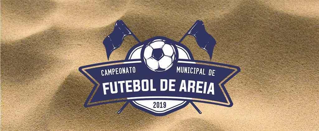 Campeonato Municipal de Futebol de Areia 2019 inicia nesta quarta-feira (13/02)