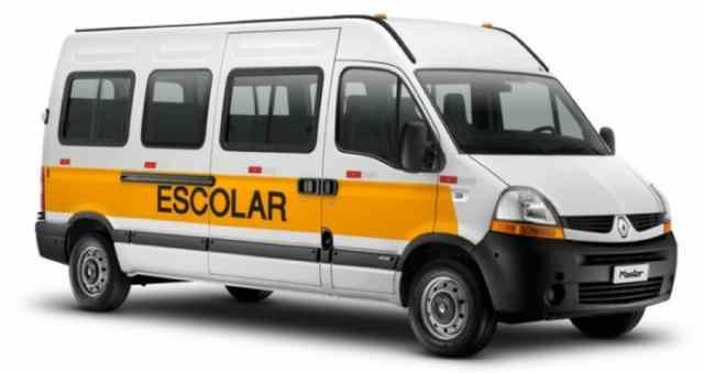 Detrami fará cadastro de vans e micro-ônibus de transporte escolar