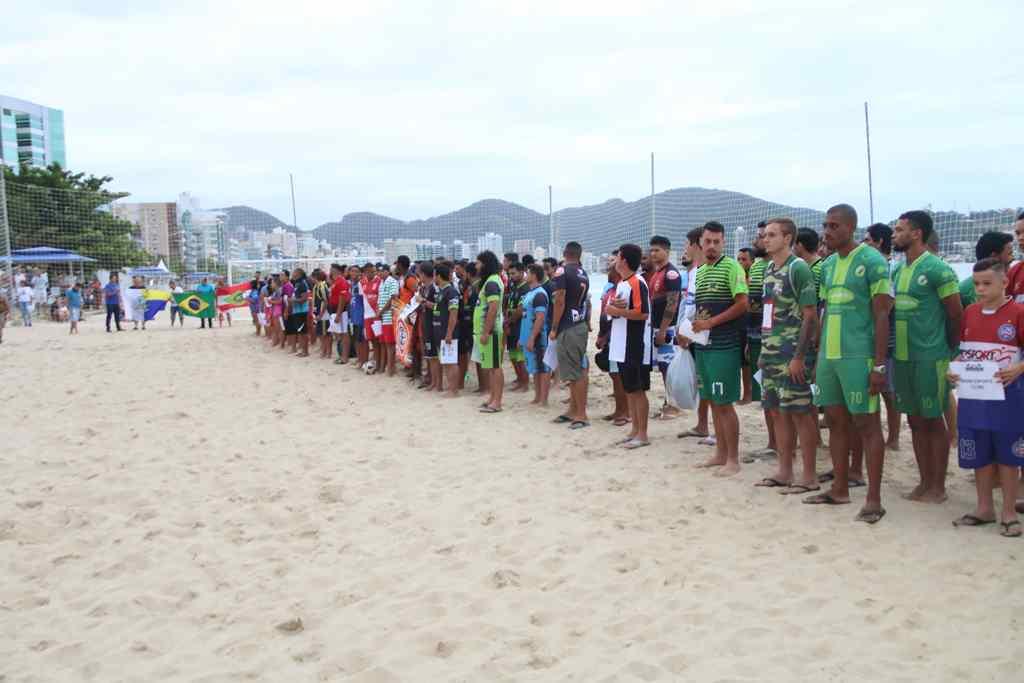 Inicia o Campeonato Municipal de Futebol de Areia 2019 em Itapema