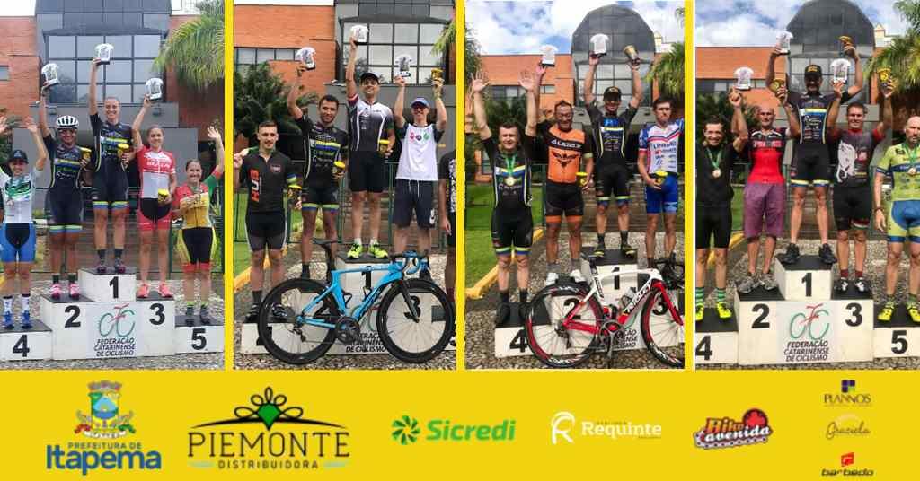 Itapema Ciclismo Faz Excelente Estreia no Ranking Catarinense de Ciclismo de Estrada