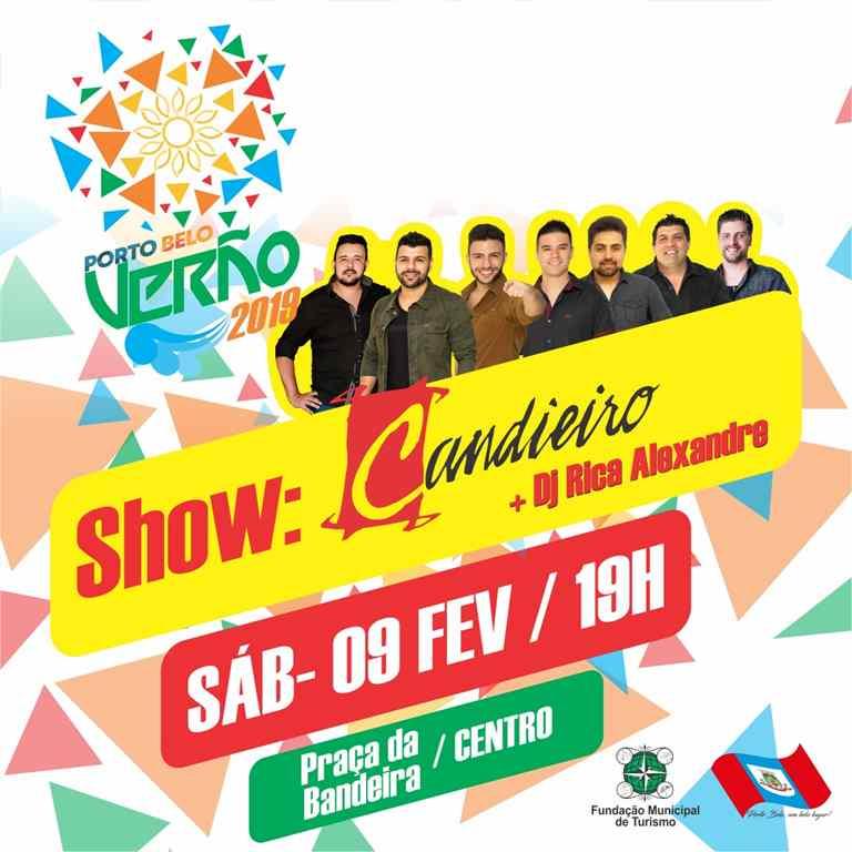 PORTO BELO – Grupo Candieiro fará show gratuito em Porto Belo
