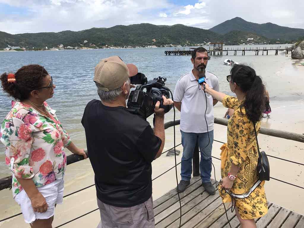 PORTO BELO - Jornalistas chineses visitam Porto Belo