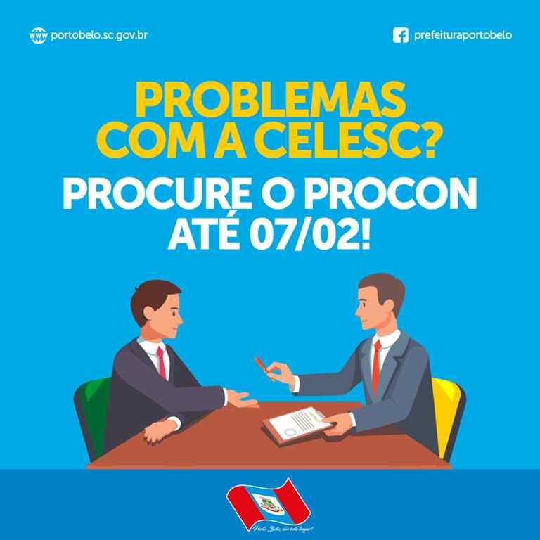 PORTO BELO - Procon de Porto Belo recebe reclamações da conta de luz