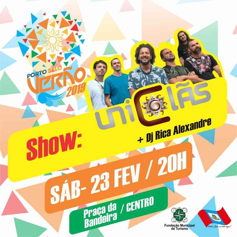 PORTO BELO - Uniclãs faz show em Porto Belo neste sábado