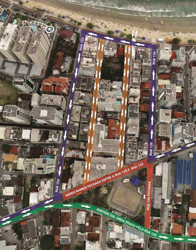 Trânsito será alterado no Centro