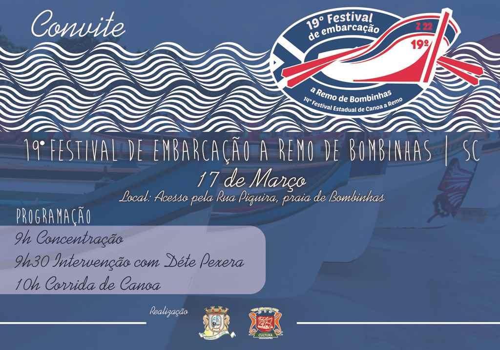BOMBINHAS – 19º Festival de Embarcação a Remo de Bombinhas