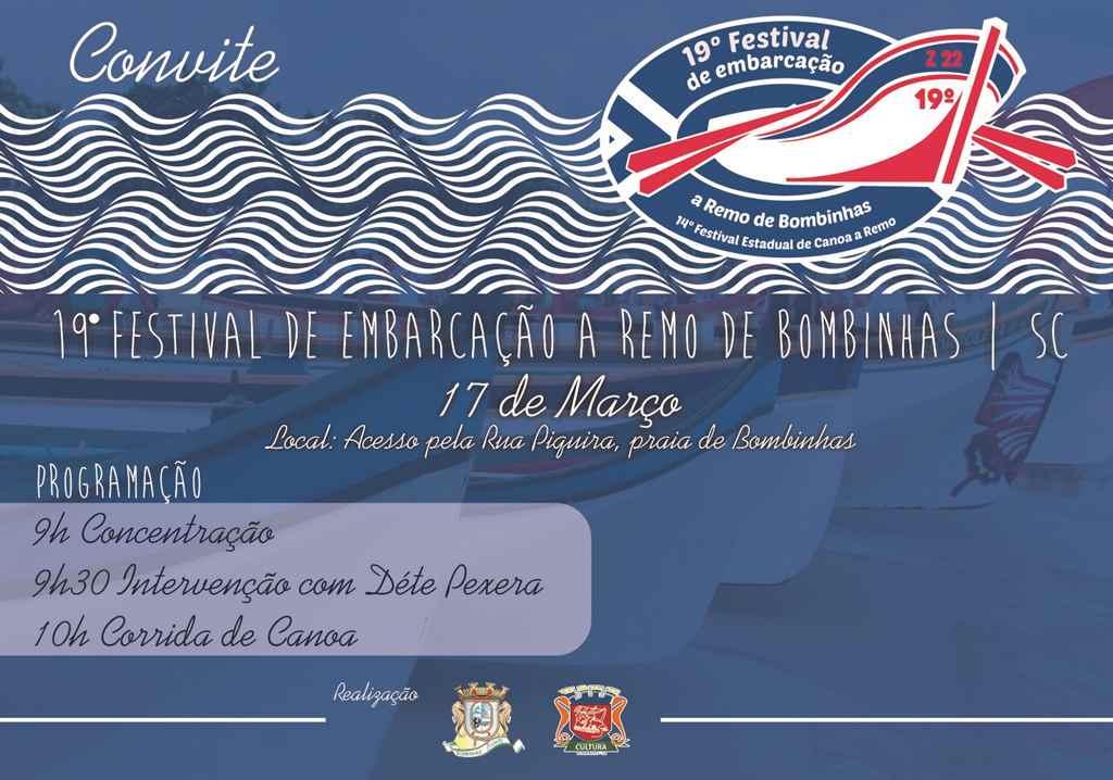 BOMBINHAS - 19º Festival de Embarcação a Remo de Bombinhas
