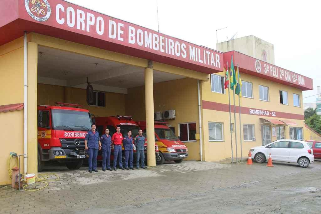 BOMBINHAS – Bombeiros abre inscrição para atendimento a emergências