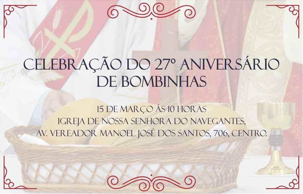 BOMBINHAS – Celebração do 27º Aniversário de Bombinhas