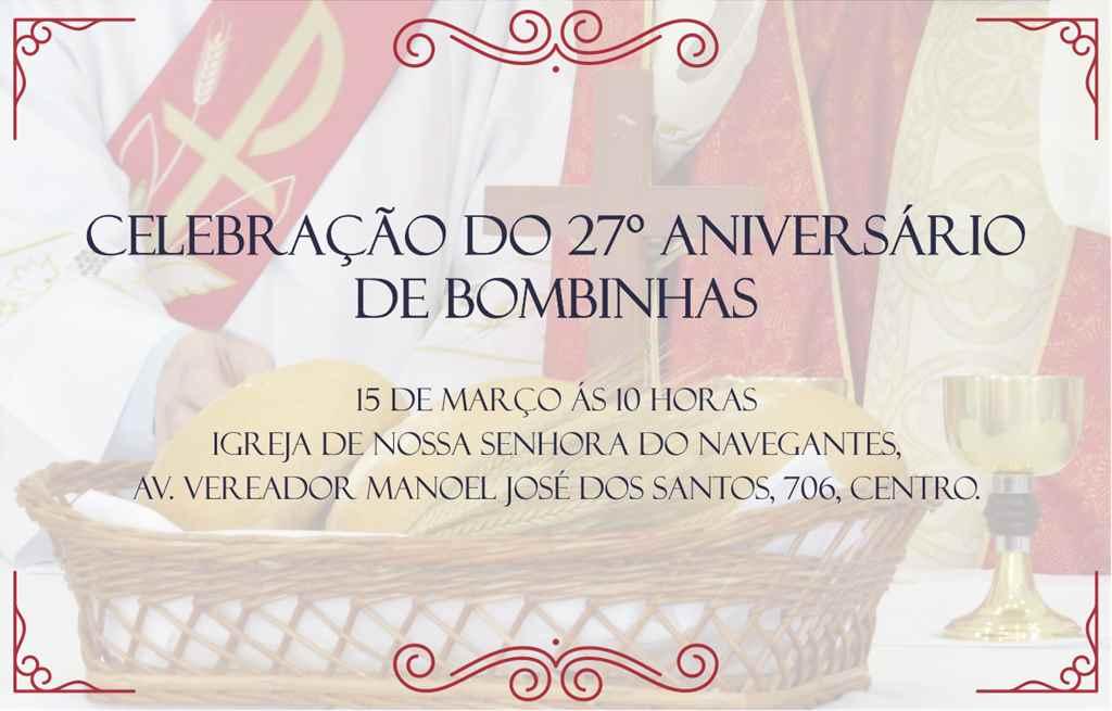 BOMBINHAS - Celebração do 27º Aniversário de Bombinhas - Foto: Tábata Torres