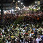 BOMBINHAS - Turistas e Comunidade curtem o Carnaval de Bombinhas - Foto: Manuel Caetano