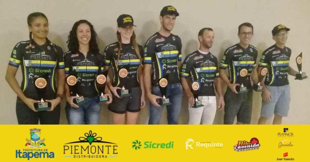 Itapema Ciclismo é destaque na Noite dos Campeões de 2018