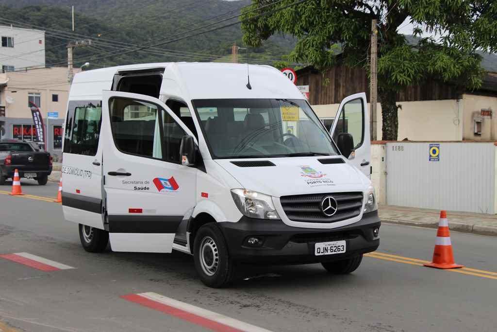 PORTO BELO – Porto Belo adquire nova van para a Saúde