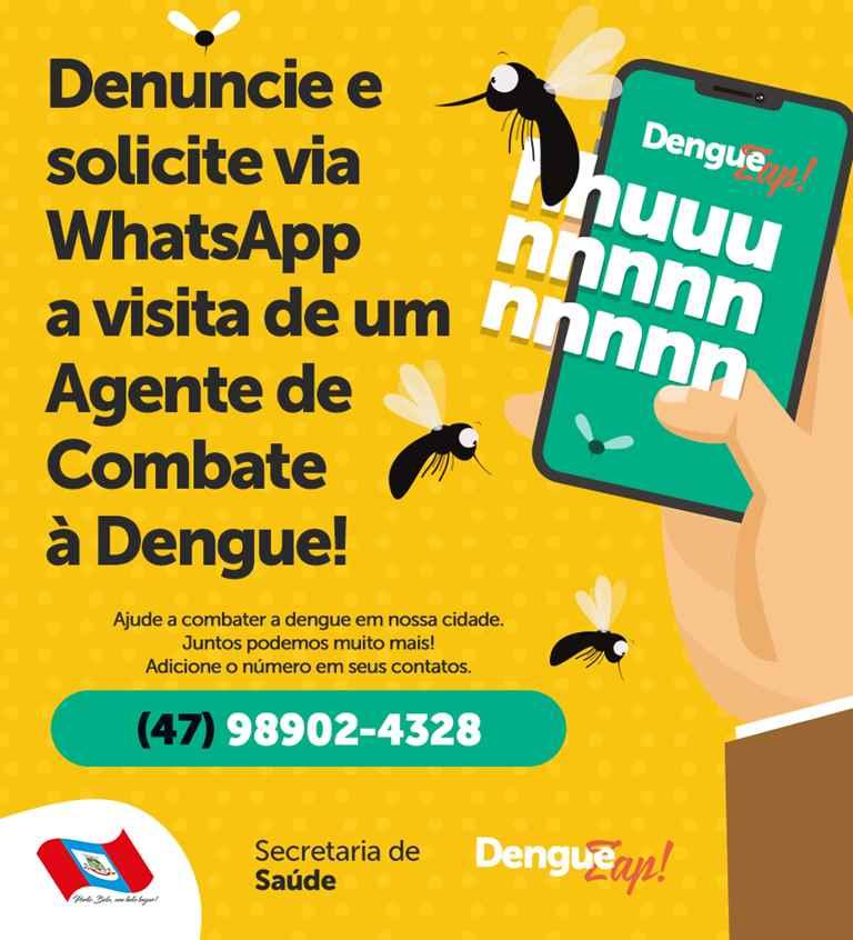 PORTO BELO – Porto Belo lança número para agendar vistorias contra a dengue