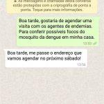 PORTO BELO - Porto Belo lança número para agendar vistorias contra a dengue