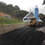 Servidão recebe pavimentação asfáltica no Bairro Tabuleiro