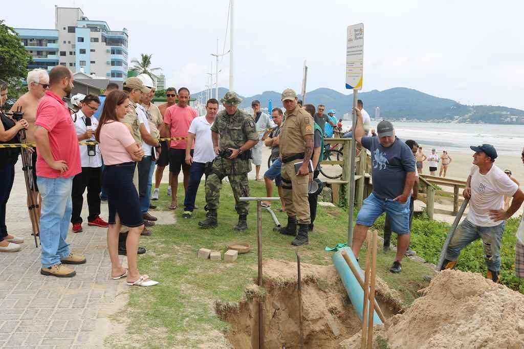 Sistema by-pass da CONASA Águas de Itapema será desativado na Meia Praia