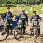 Time de MTB Downhill disputa prova em Londrina/PR