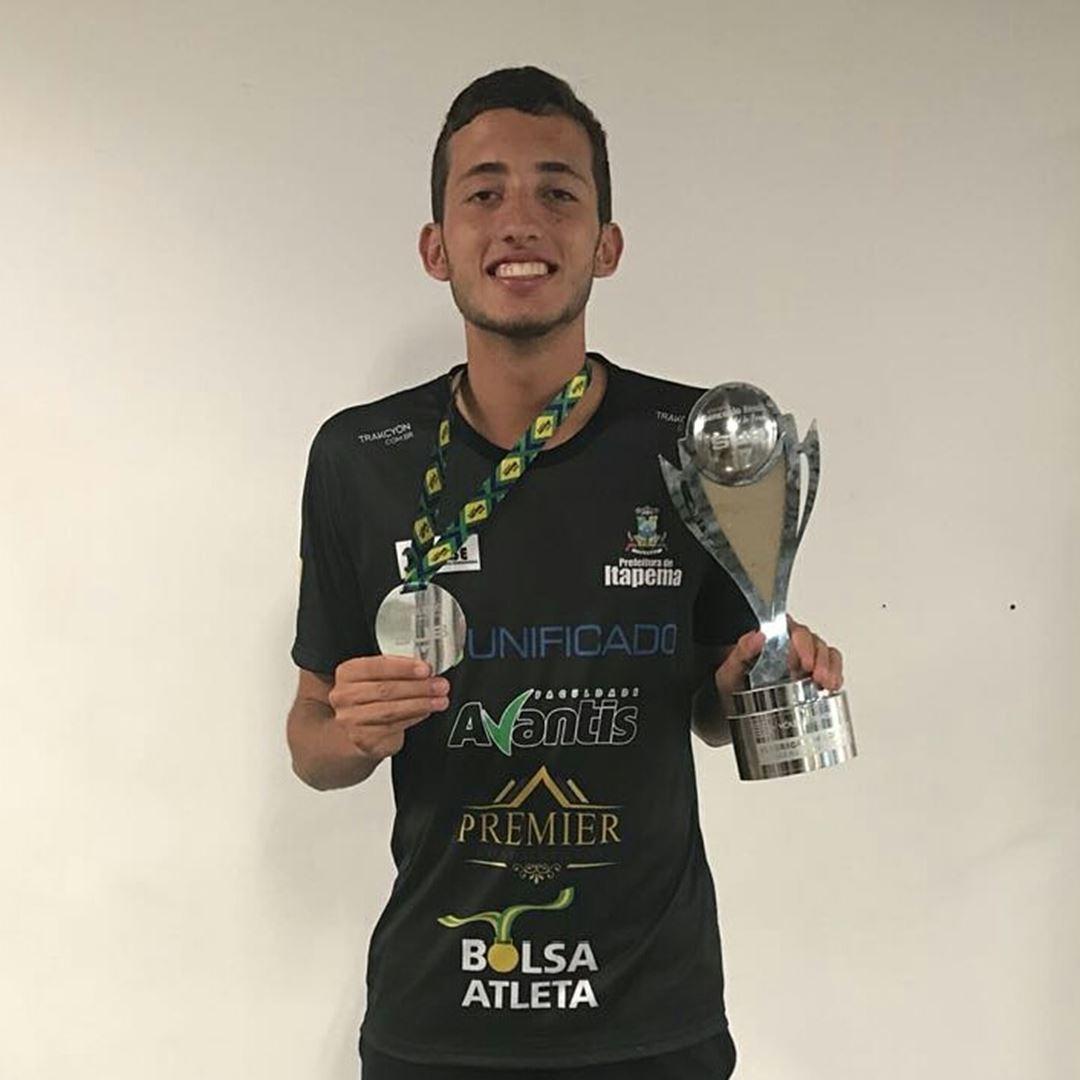 Atleta de Itapema é convocado para Seleção Brasileira Sub21