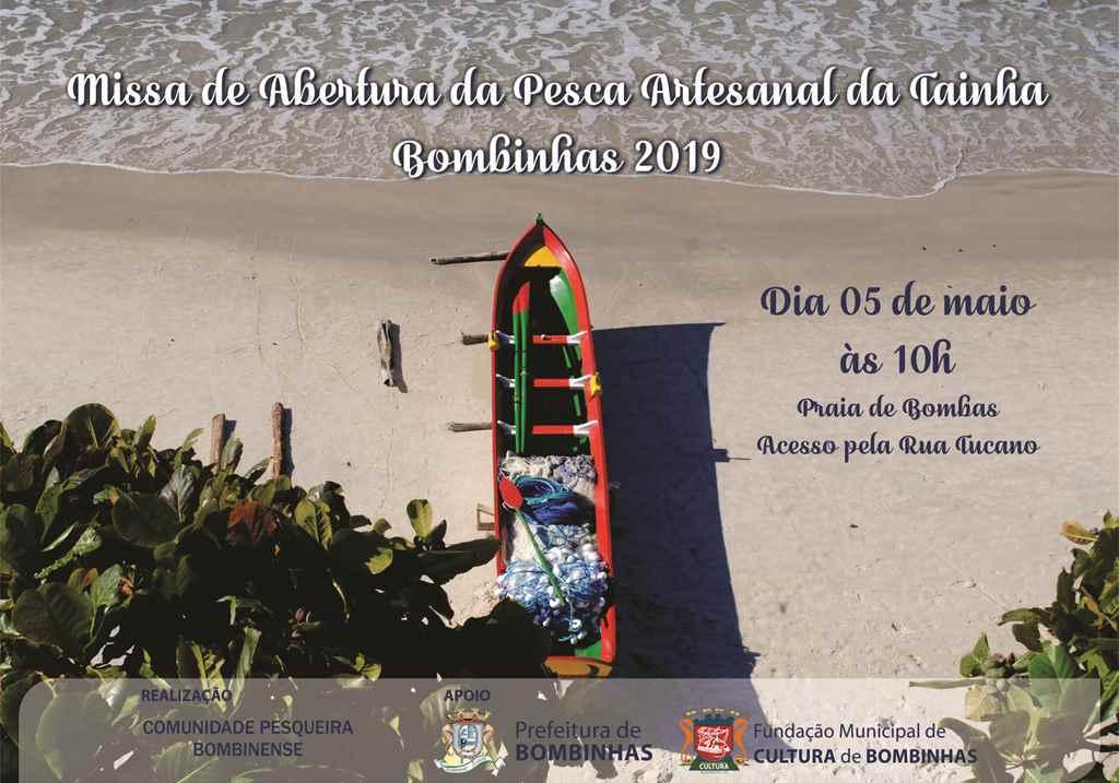 BOMBINHAS - Abertura da Pesca da Tainha 2019 - Foto: Tábata Torres
