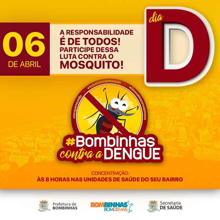 BOMBINHAS – Dia D de Combate ao Aedes Aegypti