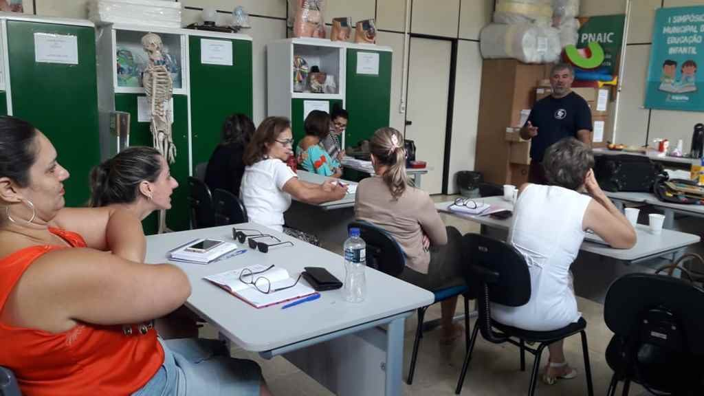 Itapema realiza formação continuada na área da Educação Inclusiva