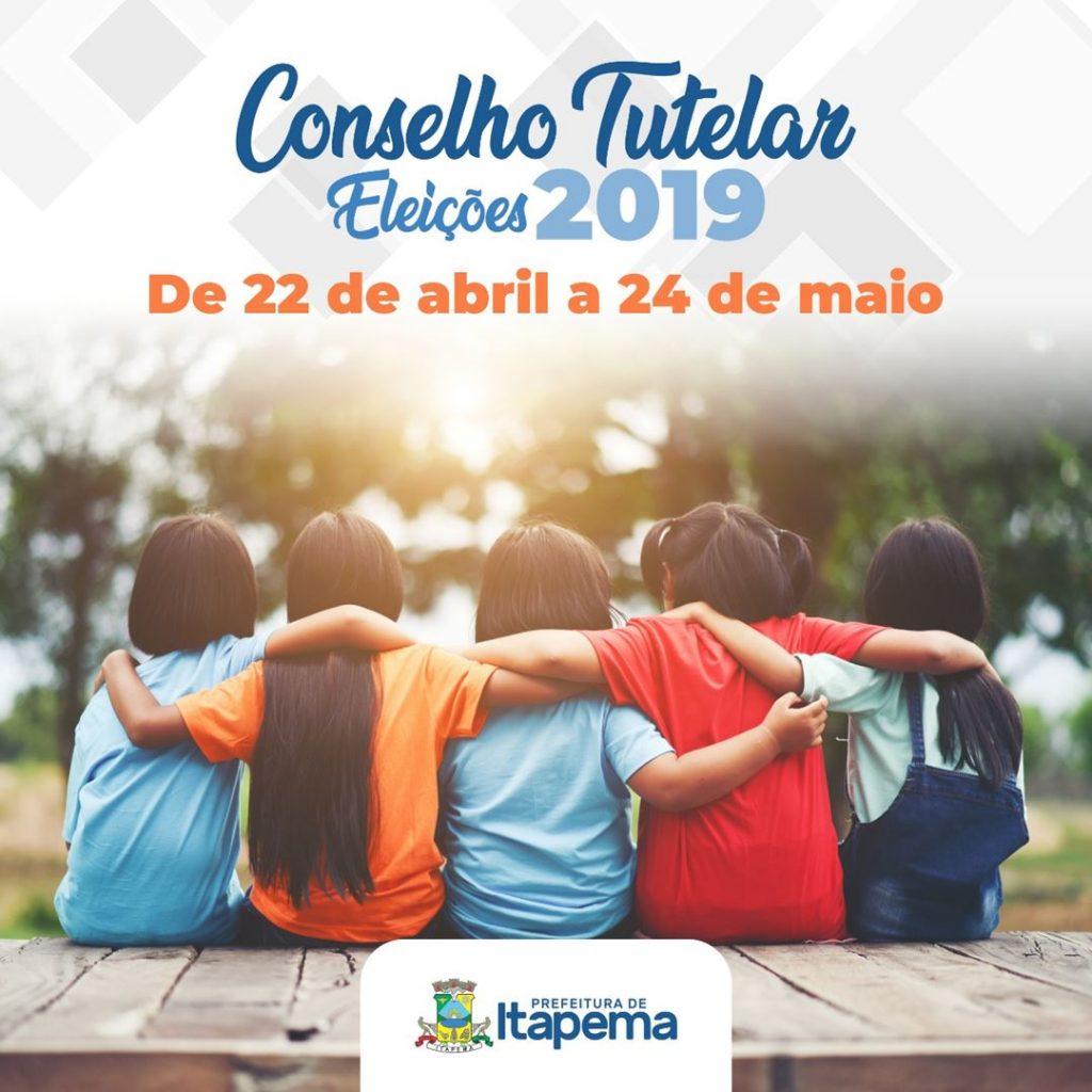 Lançado Edital para processo de eleição dos Conselheiros Tutelares em Itapema
