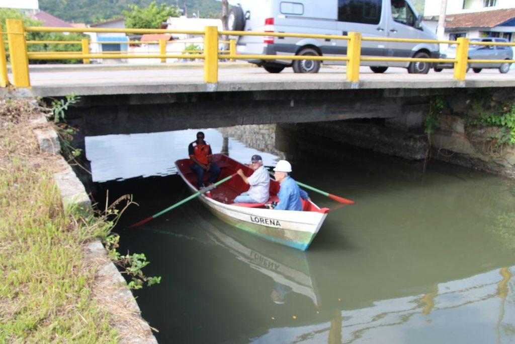 PORTO BELO – Defesa Civil de Porto Belo realiza vistoria em pontes