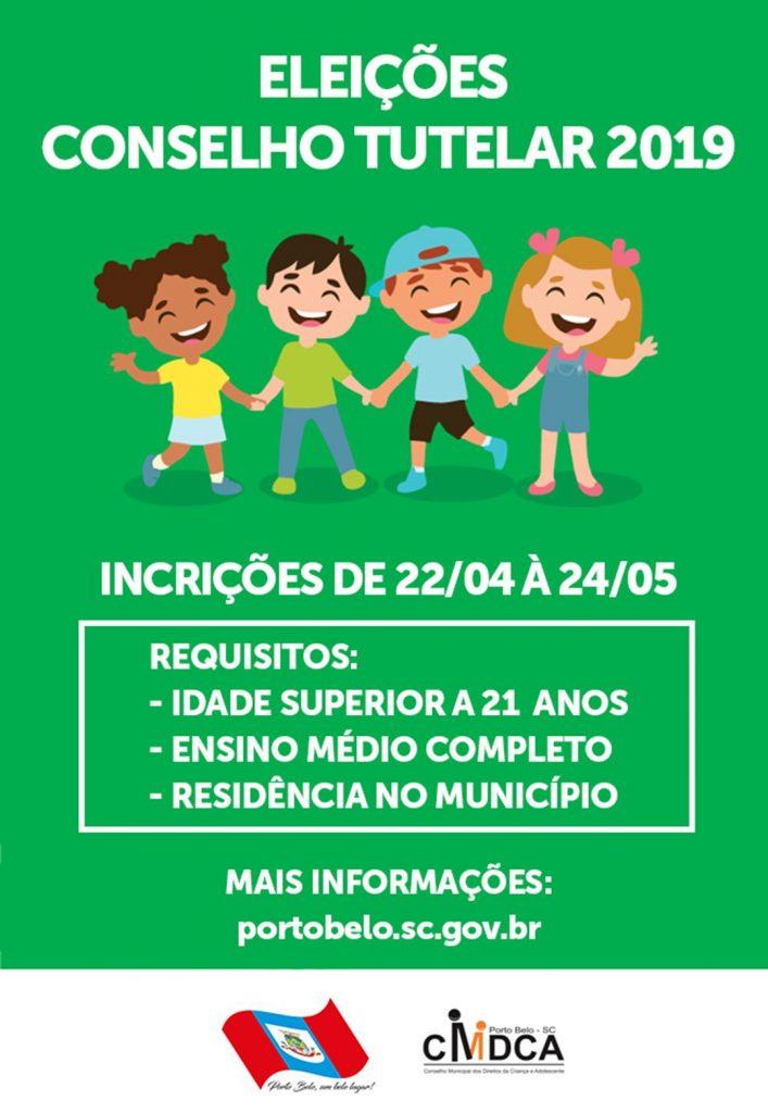 PORTO BELO – Lançado Edital para eleição de Conselheiros Tutelares