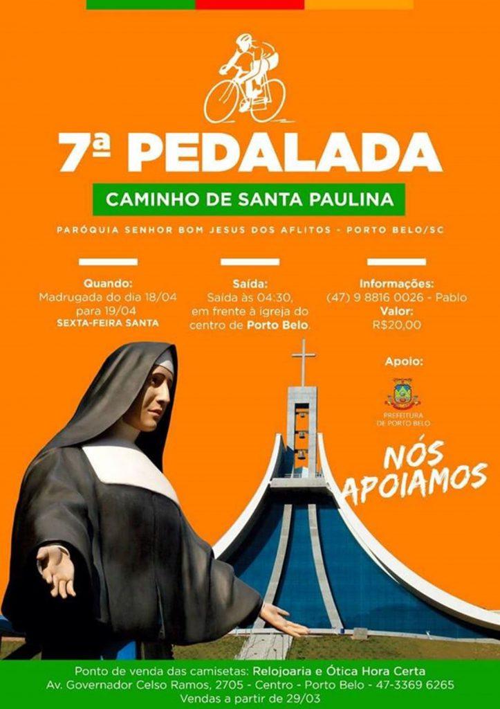 PORTO BELO – Moradores de Porto Belo realizam a 7ª pedalada Caminhos de Santa Paulina