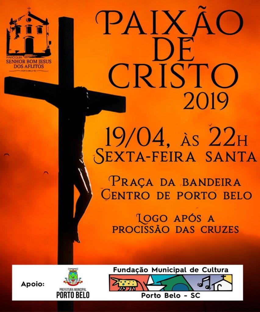 PORTO BELO – Porto Belo terá encenação da Paixão de Cristo