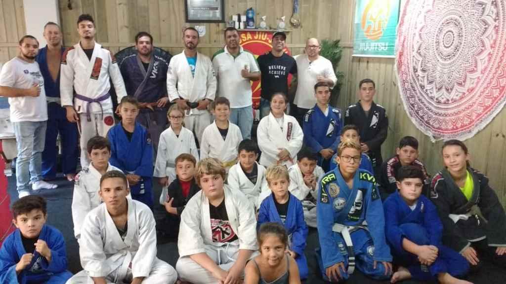 PORTO BELO - Representante da Federação Catarinense de Jiu Jitsu visita Porto Belo