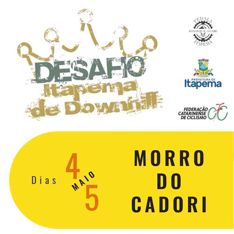 Itapema receberá etapa do Ranking Catarinense de Downhill