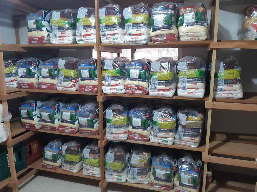Assistência Social recebe doação de 65 cestas básicas