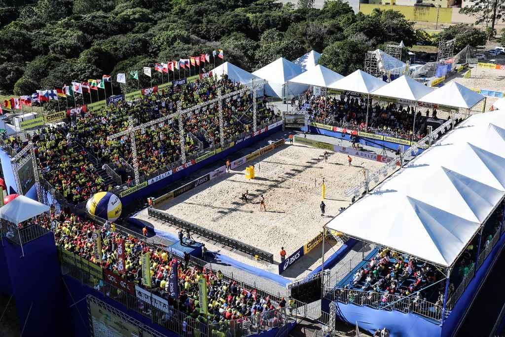 Circuito Mundial de Vôlei de Praia contará com presença de 12 medalhistas