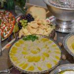 Culinária árabe conquistou os convidados da festa - Foto: Carlos Alves
