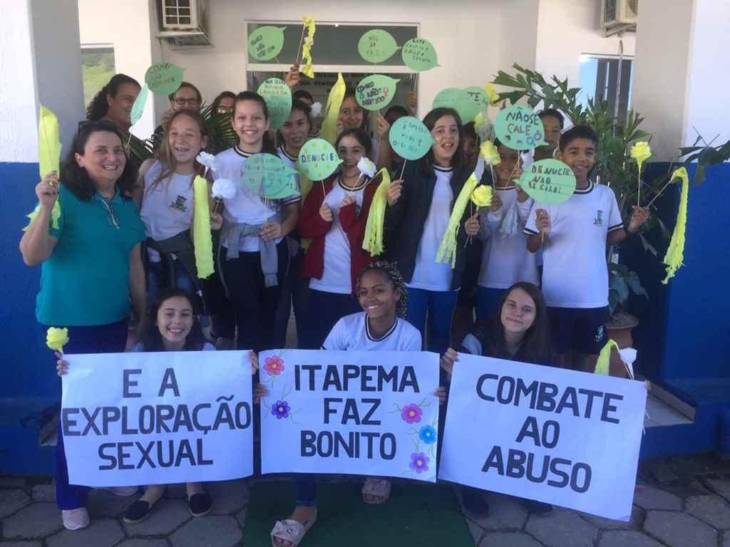 Educação de Itapema têm ações voltadas ao Combate ao Abuso e Exploração sexual de Crianças e Adolescentes